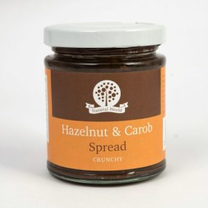 Crunchy Hazelnut and Carob Spread - 170g HazelnutAndCarob C 500x500