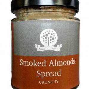 Crunchy Smoked Almond Spread