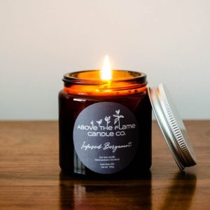   Infused Bergamot   Soy Wax Candle - 20200607 DSC 0666 500x500