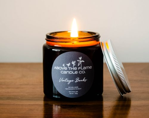 | Vintage Books | Soy Wax Candle
