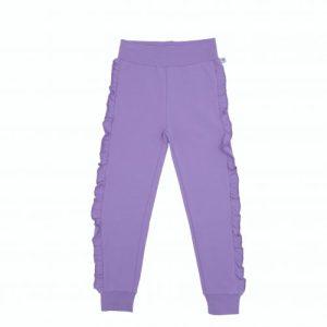 ELSI Frill Sweatpants in Lilac