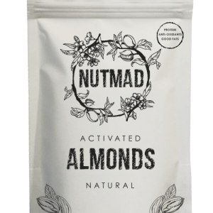 Activated Nuts Almonds Naturals Box of 12 bags x 70g