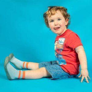 Turtl Socks Pack of 24 Stripes Orange, Duck Egg, Black - 92721020 147492410104295 3499467210215129088 o 500x500