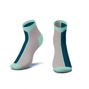 Contrast Ankle Socks in Legion Blue - Kids - AS5 b 3D 500x500