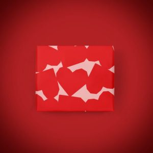 Chunky Heart – Gift Wrap