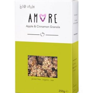 AMORE Organic Granola Apple and Cinnamon 250 g x 6 - Amore AppleGranola 1 681x1024 1 500x500
