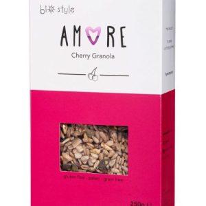 AMORE Organic Granola Cherry 250 g x 6 - Amore Cherry 681x1024 1 500x500