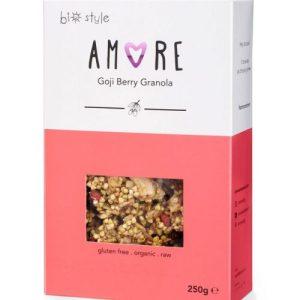AMORE Organic Granola Goji Berry 250 g x 6 - Amore GojiBerryGranola 681x1024 1 500x500