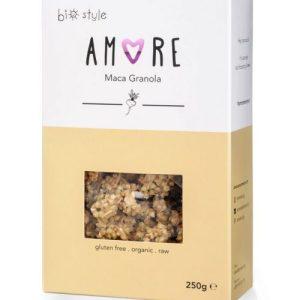 AMORE Organic Granola Maca 250 g x 6 - Amore MacaGranola 1 681x1024 1 500x500