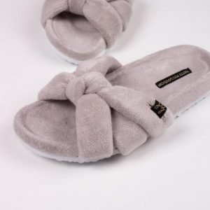 ARIEL Grey slippers pack of 8