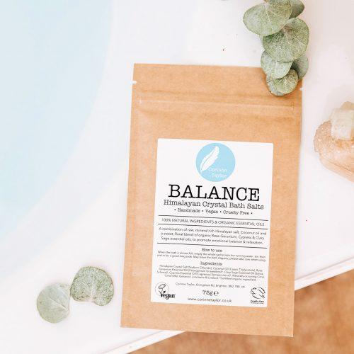 Rose Geranium, Essential oils, Clary Sage, Himalayan Salt, Balance, bath salts, aromatherapy, organic, natural, wellbeing, cruelty free