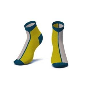 Contrast Ankle Socks in Mustard - Kids - CONTRAST ANKLE SOCKS IN MUSTARD 3D 500x500