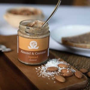 Crunchy Almond & Coconut spread - DSC 8683 500x500