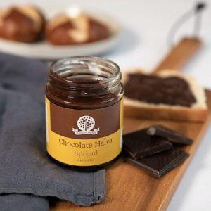 Smooth Chocolate Halva Spread - DSC 8827 500x500