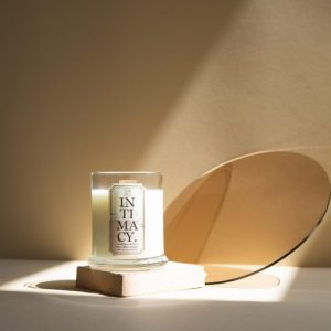 Intimacy Wooden-wick Scented Candle