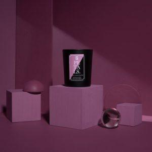 Petals Scented Candle   Tuberose, Jasmine, Ylang Ylang - Elm Rd Petals Candle 500x500