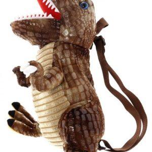 Dinosaur Backpack Brown