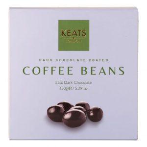Keats Dark Chocolate Coated Coffee Beans 150g - Keats Dark Chocolate Coated Coffee Beans 150g 500x500