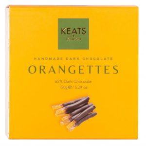 Keats Dark Chocolate Orangettes 150g - Keats Dark Chocolate Orangettes 150g 500x500