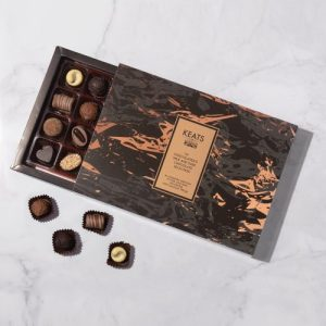The chocolatiers milk and dark chocolate selection (24 pcs) - Keats Luxury Assorted Chocolate Selection 24 pieces new 500x500