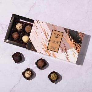 Keats luxury sleeve chocolate box gift