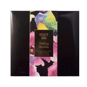 Keats Pudding Chocolate Selection, 12pcs, 120g - Keats Puddings Chocolate Selection Box 12pcs 3.1 500x500