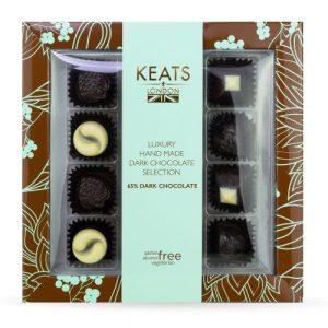 Keats Luxury Dark Chocolate Selection - Keats luxury Dark Chocolate Selection 120g  500x500