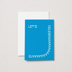 Let's Celebrate – A6 Greeting Card