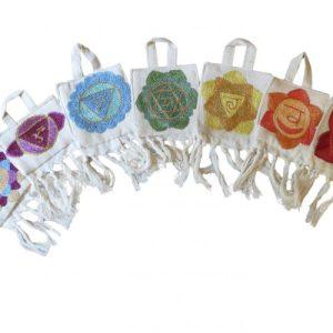 Mini Chakra Banner (set of seven)