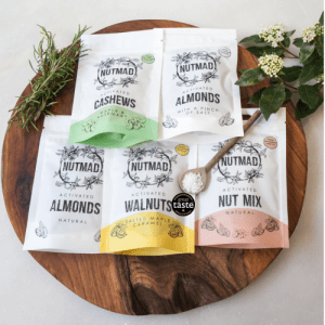 Activated Nuts Box of 12 bags x 30g