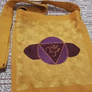 Rainbow Chakra Design Shoulder Bag Magic Third Eye