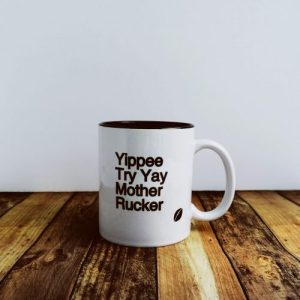 Rugby Gift – Yippee Try Yay – Ceramic Mug