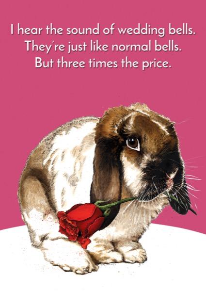 Bells Bunny Card