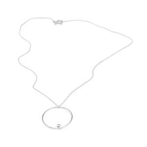 Chain EFFECT, silver 925 length 43 cm
