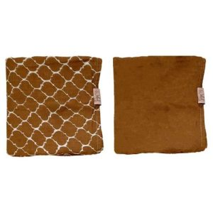 Swaddle 80×80 cm 2-PACK Once upon a dream Hazel brown