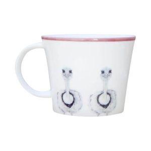 Camilla Ostrich Bone China Mug - cup5square1000 500x500