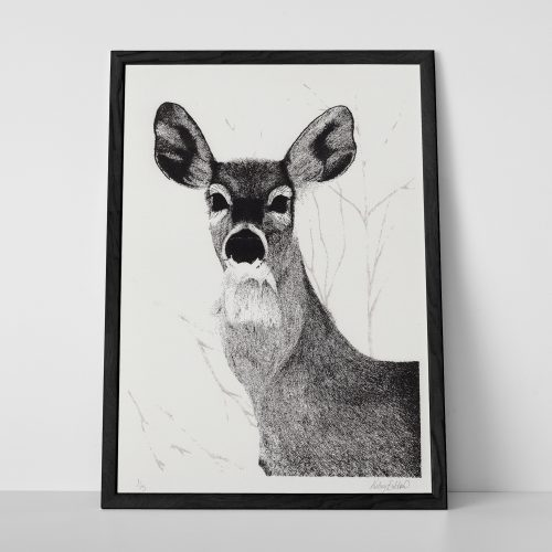 Deer Screenprint