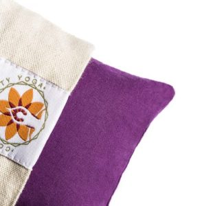 Relaxation Eye Pillow + Carry Case – Meditative Purple + Lavender