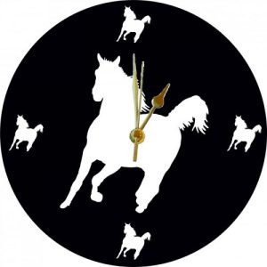 Cut Out Animal Clock – Horse Style 4