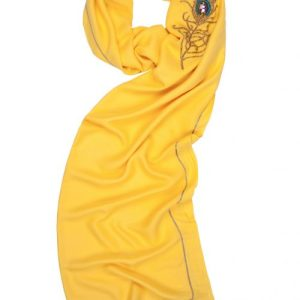 Angel Jophiel Yellow Wrap Scarf for Prosperity, Radiance & Positivity