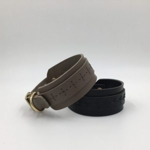 CRAFT LEATHER IGGY/WHIPPET COLLAR- 2 COLOURS