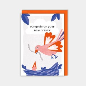 Congrats on your new arrival - zedigdesign cards RAINBOW WISHES new chick 2000x2000 500x500