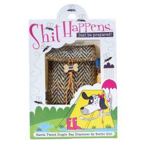 Shit happens….. just be prepared! Doggie Bag – Hamish Tartan
