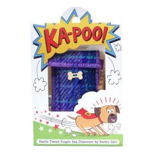 Ka-Poo Doggie Bag – Purple Tartan