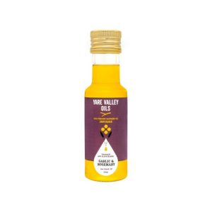 Infused Oil Garlic & Rosemary 100ml (case of 12) - 5060196570140 100ml garlic rosemary 500x500