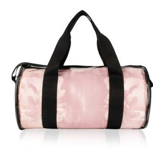 PVC KIT BAG WITH SATIN LINER + STAR PATCH PALE PINK pack of 10