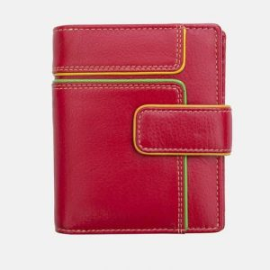 Hette Small Wallet Purse RFID Safe 6711 Red - 6711 r ph 500x500