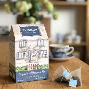 Cupsmith Organic Afternoon Tea Pyramids 8 units