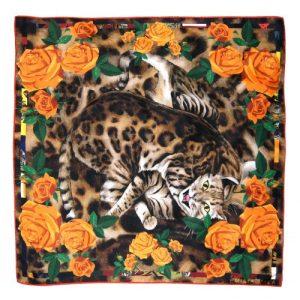 Bengal Rose Orange Scarf