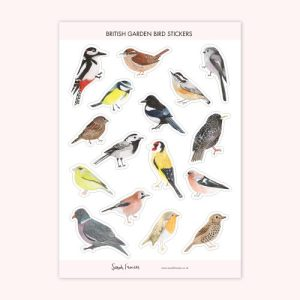 British Garden Birds Stickers